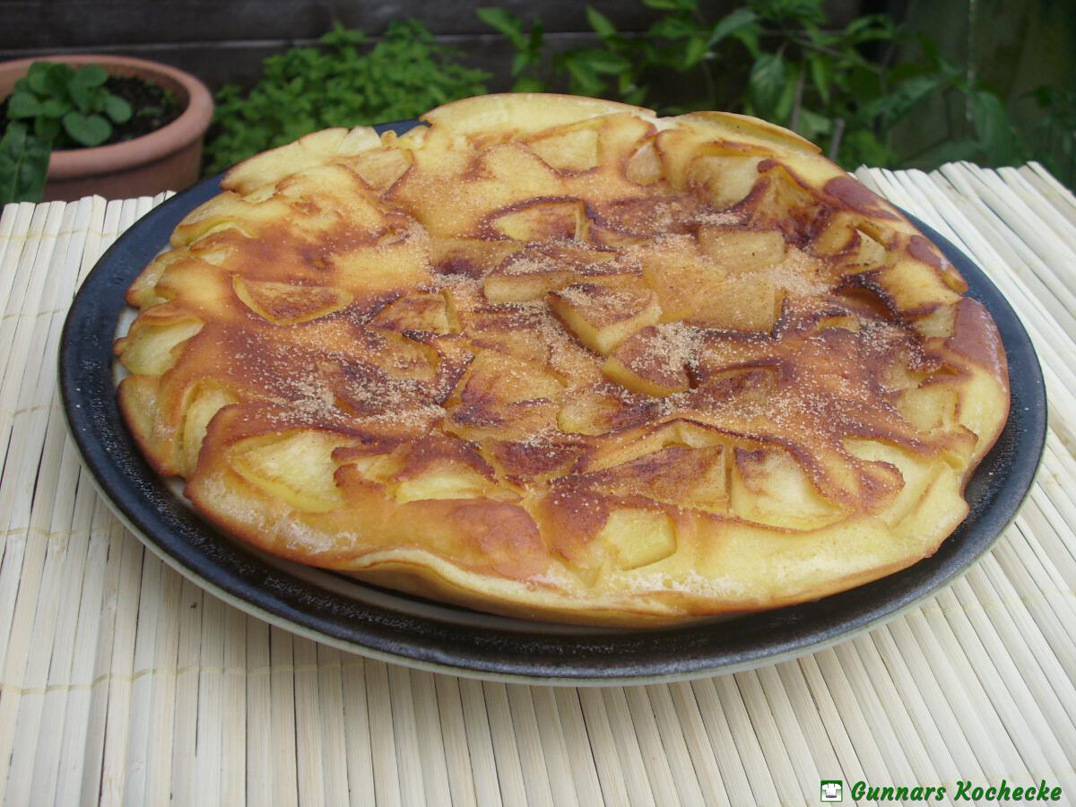 apfelpfannkuchen gunnars kochecke