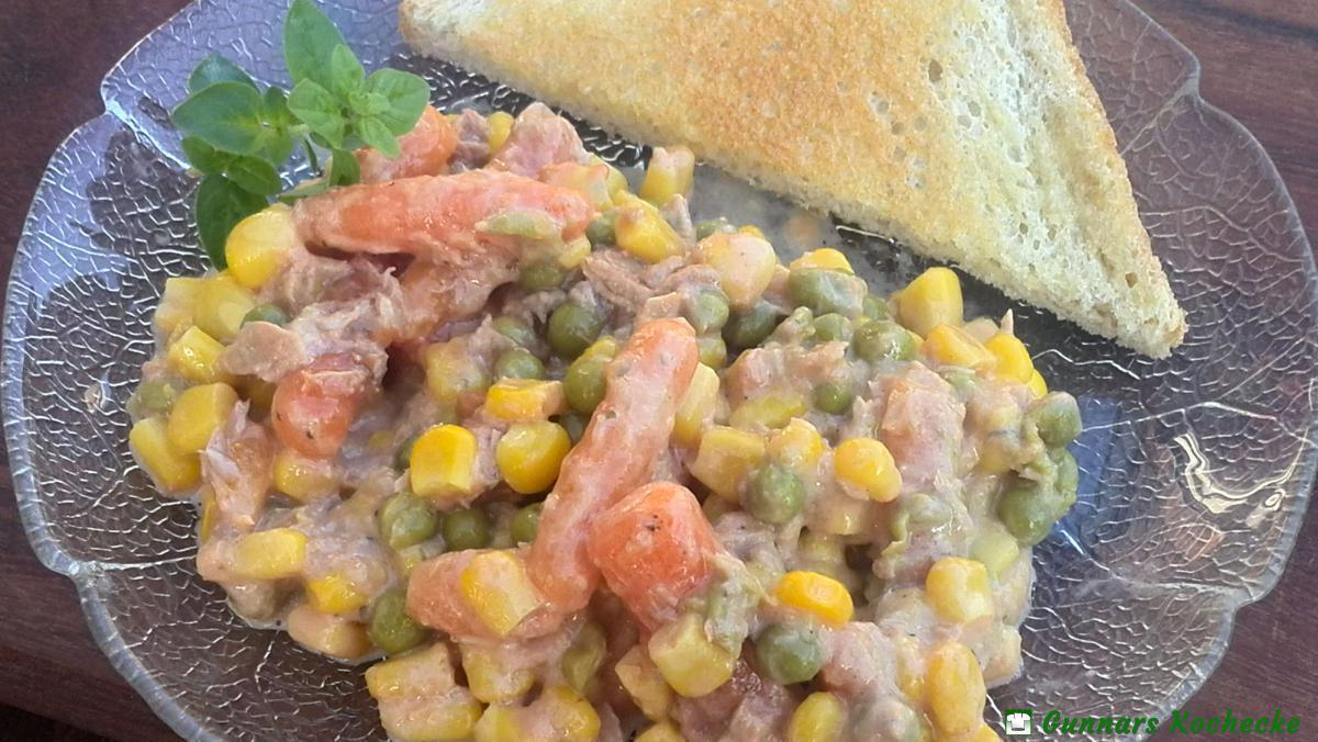 thunfischsalat mit mais