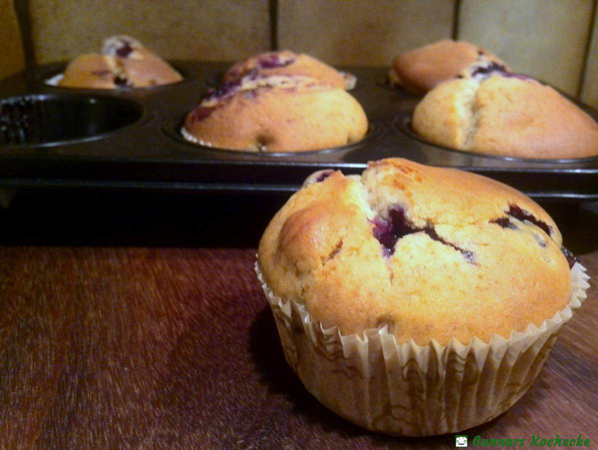 Rezept brombeer muffins