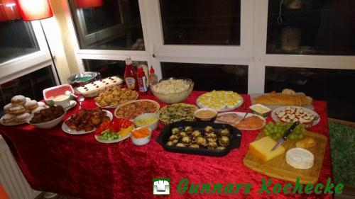 Buffet Silvester 2016
