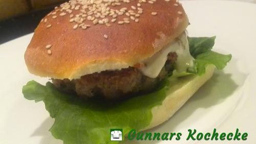 Fischburger mit fruchtig-scharfer-Sauce