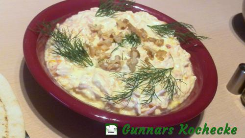 Havuçlu Yogurt Salatasi - Türkische Möhren-Joghurt-Creme