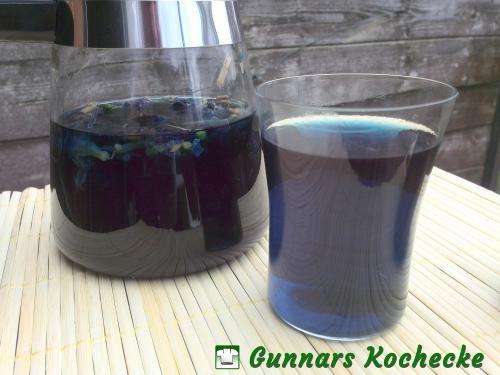 BlueChai - das Getränk der Schlümpfe