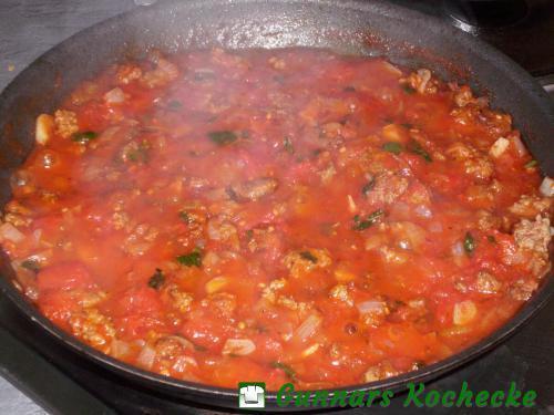 Hackfleisch-Tomaten-Sauce