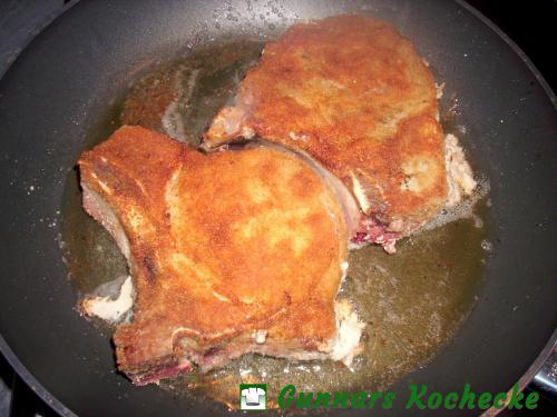 Panierte Schweinekoteletts
