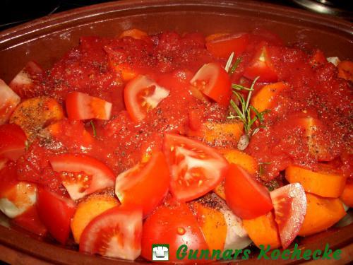 Tomaten hinzufügen