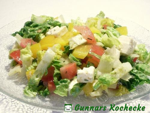 Gemischter Salat mit Feta