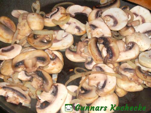 Champignons anbraten
