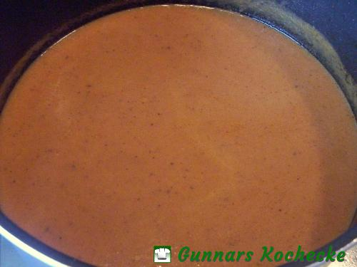 Passierte Sauce