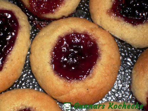 Marmeladenkleks-Kekse