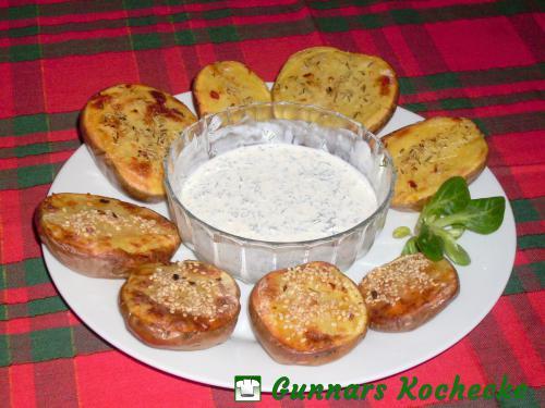 Ofenkartoffeln mit Dip